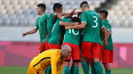 México golea 4-1 a Francia en los Juegos Olímpicos
