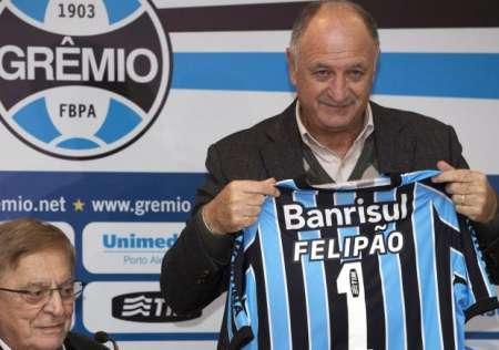(FOTO) Felipao Scolari llegó a Gremio