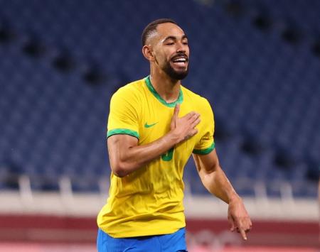 Brasil se metió a semifinales tras vencer a Egipto