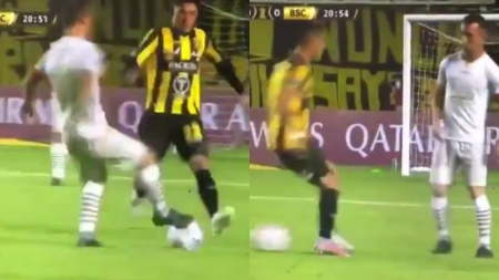 (VIDEO) CONMEBOL recreó el doble caño del 'Kitu'Díaz en FIFA 21
