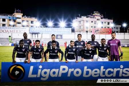 Liga de Quito estrenó camiseta conmemorativa ante Técnico Universitario