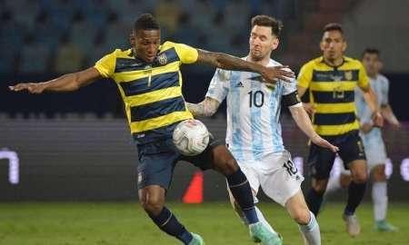 (FOTO) Así reaccionó Pervis Estupiñán tras ser elegido en el 11 ideal de Copa América