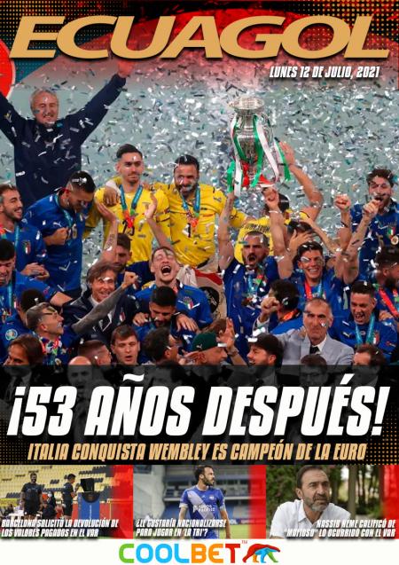 Italia venció a Inglaterra y se proclamó ¡CAMPEÓN!