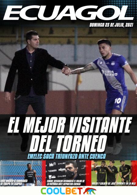 Emelec derrotó a Deportivo Cuenca en el Alejandro Serrano Aguilar