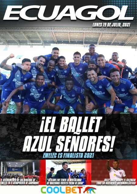 ¡EL BALLET AZUL SEÑORES!