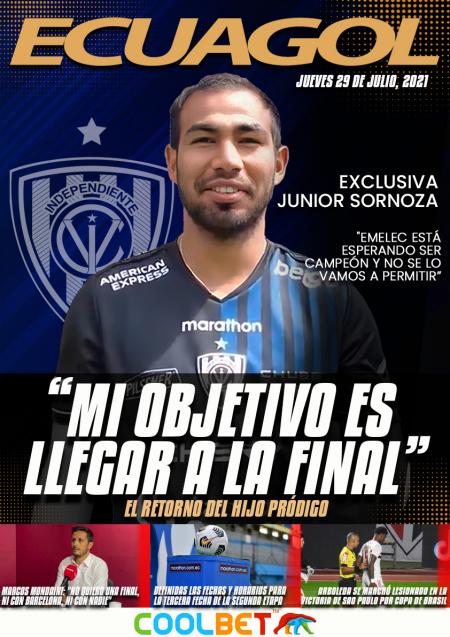 (VIDEO) EXCLUSIVA | Junior Sornoza: