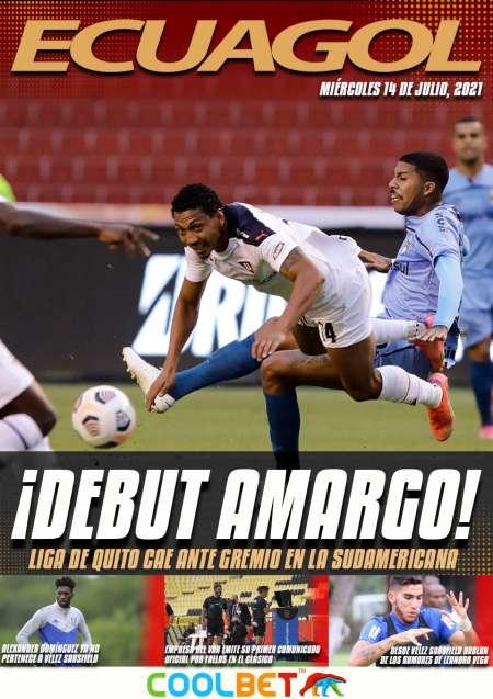 Liga de Quito con un pie afuera de la Sudamericana