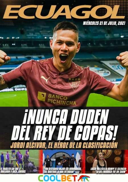 De la mano de Alcívar, Liga de Quito conquistó Brasil