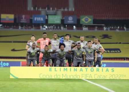 (FOTO) El mensaje de Jhegson Méndez tras la derrota con Brasil