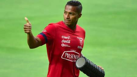 La reacción de Antonio Valencia ante la derrota de Ecuador contra Perú
