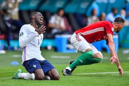 Dembélé se despide de la Eurocopa por una lesión