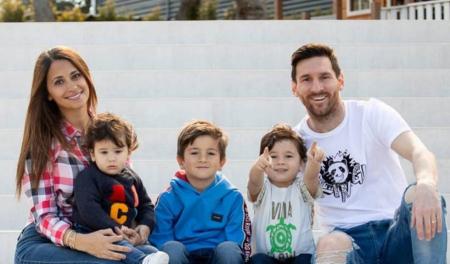 (FOTO) La curiosa foto de Lionel Messi que publicó Antonela Roccuzzo