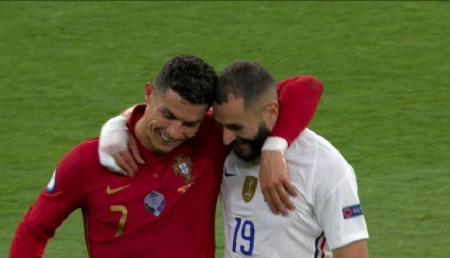 Benzema revela su conversación con Cristiano Ronaldo en la Eurocopa
