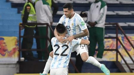 Jugador de Argentina está en duda para el partido contra Ecuador