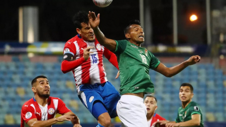 Baja en Paraguay por el resto de la Copa América