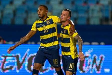 (VIDEO) Captaron al 'Kitu' Díaz celebrando el primer gol de Ecuador