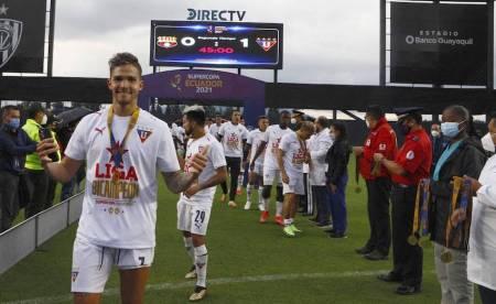 Liga de Quito perderá a Martínez Borja