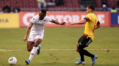 (FOTO) Desde Liga de Quito hablan del futuro de Pedro Pablo Perlaza