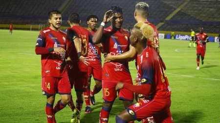 El Nacional ganó al Altético Santo Domingo y quedó como líder en Serie B