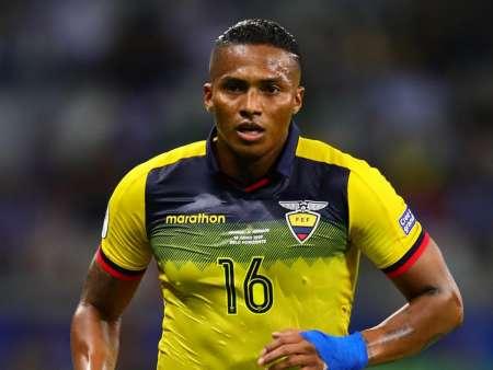 (FOTO) Así reaccionó Antonio Valencia tras clasificación de Ecuador