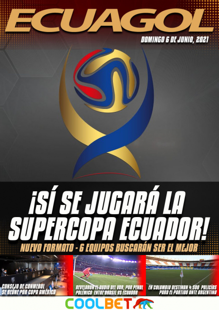 Se conoció el calendario para la Supercopa Ecuador