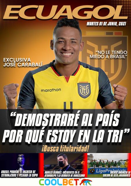 (EXCLUSIVA) (VIDEO) José Carabalí habló sobre los dos partidos por Eliminatorias
