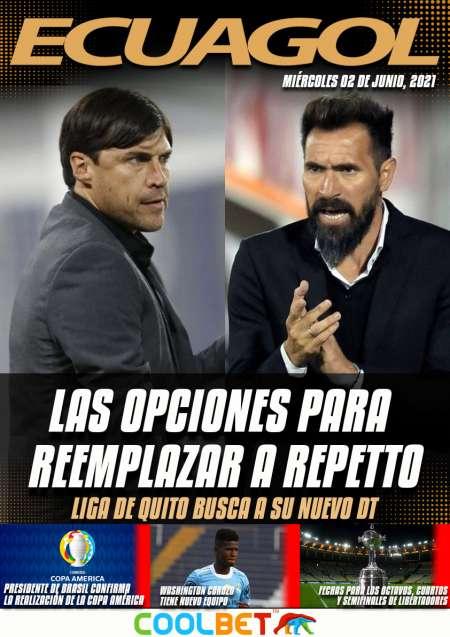 Las opciones de Liga de Quito para reemplazar a Pablo Repetto