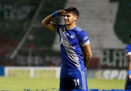 ¿Por qué no jugó Facundo Barceló ante Deportes Tolima?