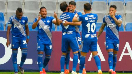 (FOTO) Los convocados de Emelec para sellar la clasificación ante Talleres
