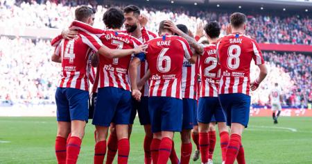 Atlético de Madrid presenta baja sensible para la última fecha