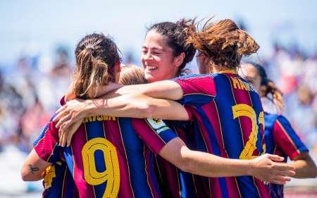 (VIDEO) Barça femenino, campeón de la Liga