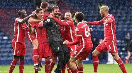 (VIDEO) Liverpool ganó en el último minuto con un gol de cabeza del arquero Alisson