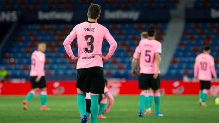 (VIDEO) Barça empató con Levante y se aleja de la pelea por el título de LaLiga