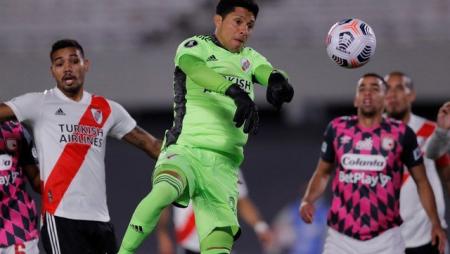 'INMENZO': River ganó sin arquero ante Independiente Santa Fe