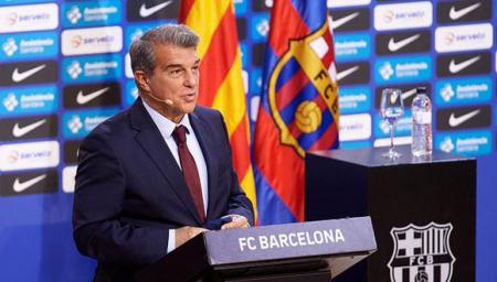 Joan Laporta anuncia un fin de ciclo en el Barça