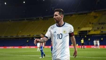 (FOTO) La Bombonera y su homenaje a Messi tras la Copa América