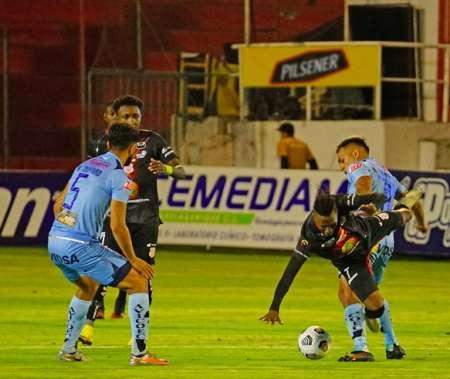 Empate en el Clásico Ambateño cerró la jornada de LigaPro