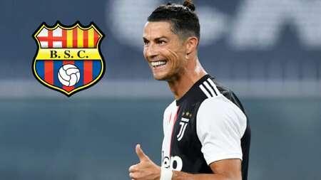 (FOTO) El meme de Cristiano Ronaldo con la camiseta de Barcelona SC