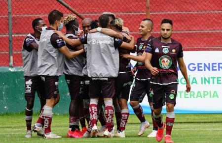 La tabla de goleadores tras las fecha 10 de la LigaPro Betcris