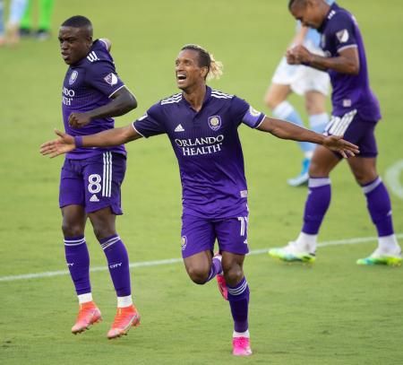 Jhegson Méndez titular en el empate de Orlando City