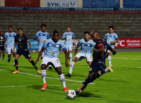 Olmedo y Guayaquil City igualaron sin goles en el Olímpico de Riobamba