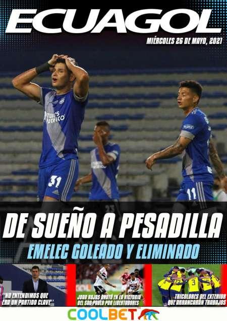 Emelec cayó goleado ante Talleres y quedó eliminado de la Copa Sudamericana