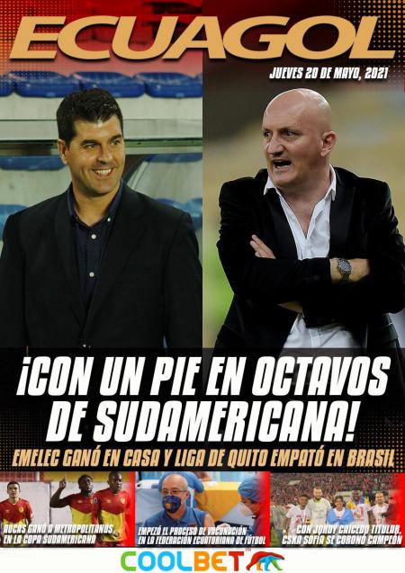 Con un pie en Octavos de Copa Sudamericana
