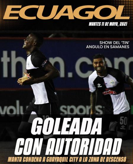 Manta goleó a Guayaquil City en el 'Chucho' Benítez