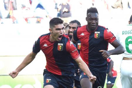 (VIDEO) Felipe Caicedo debutó en agónico empate del Genoa en Serie A