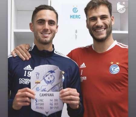 (VIDEO) Campana recibió su carta de FIFA con una imagen particular