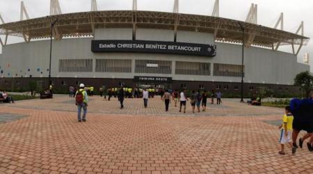 ¿Por qué fue suspendido el estadio Christian Benítez?