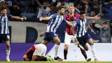 (VIDEO) El Milan volvió a tropezar en Champions y cayó ante el Porto