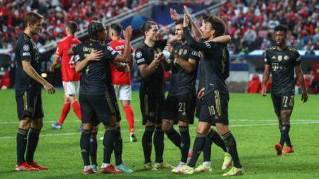 (VIDEO) Benfica no aguantó y fue goleado por Bayern Munich en Champions