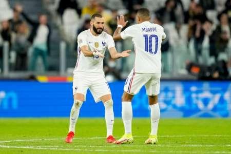 (VIDEO) Francia remontó a Bélgica con goles de Benzema y Mbappé